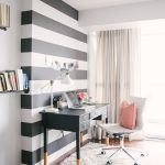 Wonderful Different Types Of Wall Painting Styles Of Striped Accent Wall Style Me Pretty