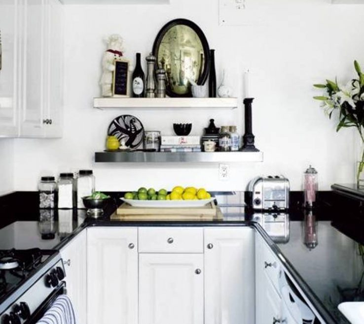 Wonderful Small White Kitchen Designs Of Floating Spice Rack And Display Furniture Storage