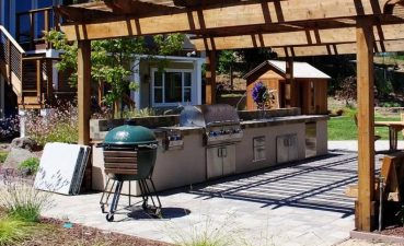 Remodel New Outdoor Kitchen