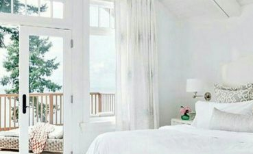 Warm White Bedroom