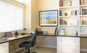 Built In Home Office Designs Bowldert Impressive Built In Home Office Ideas