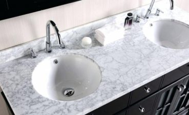 Photo Of Bathroom Countertop Material For High Activity