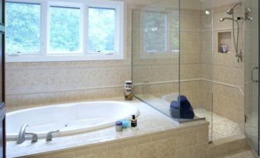 Photo Of Acrylic Bathtub Makes The Bathroom Look Clean