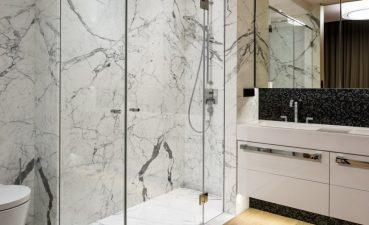 Photo Of Glass Doors In Bathroom Shower