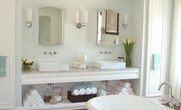 Photo Of Modern Home With Bathroom Vanities