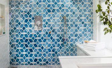 Photo Of Excellent Tile Pattern For Bathroom Design