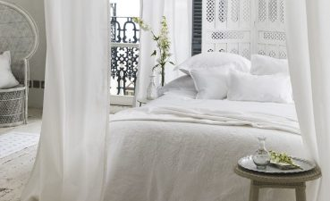 Photo Of Romance And Modernity In White Bedroom Design